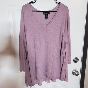 ‼flash sale‼Lane Bryant dusty rose top.